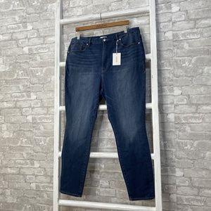 Good American Good Waist Skinny Jeans Size 22